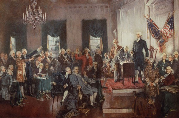 Delegates at the Constitutional Convention