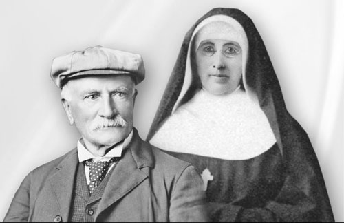 Dr. Mayo and Mother Alfred Moes