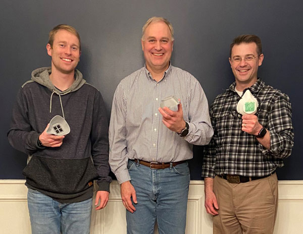 The Inventors of a 3D file for printing N-95 masks