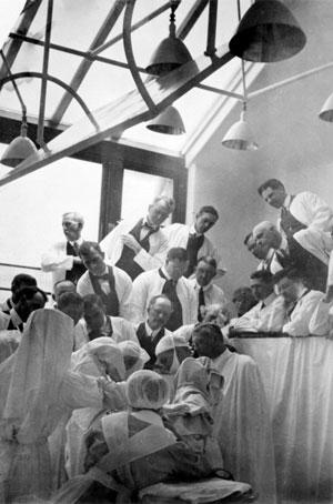 Visitors at Mayo Clinic